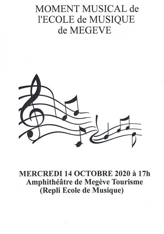 Affiche moment musical